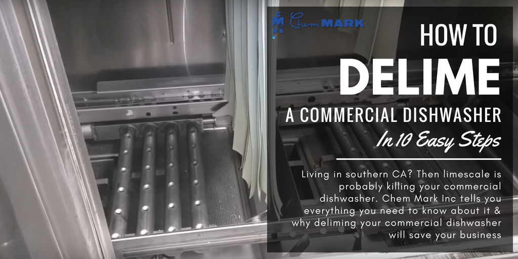 How to Delime a Commercial Dishwasher